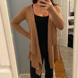 Old Navy Brown Knit Cardigan